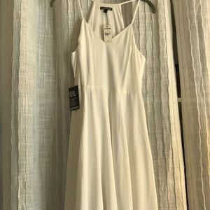 Express white dress brand new